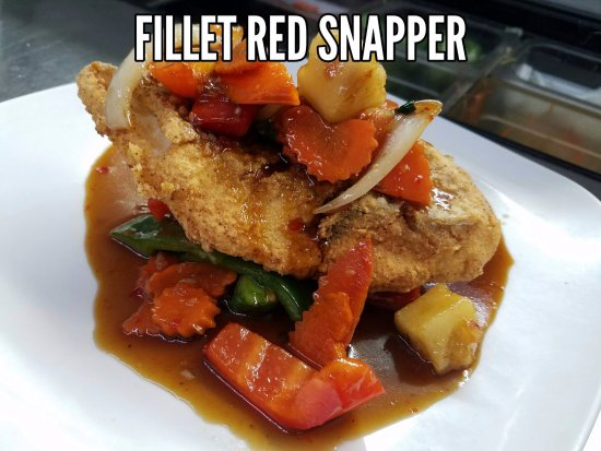 Anniston, AL: Fillet Red Snapper