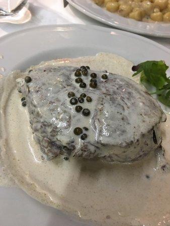 Grotta di Santa Caterina: Best meal of our trip so far!