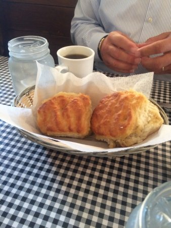 Colfax, Carolina del Norte: 'Starter' biscuits