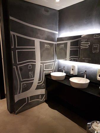 Three O Nine Hotel Lobby Bathroom