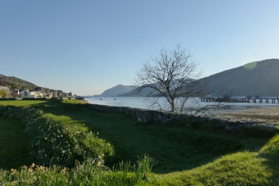 Premier Inn Fort William Hotel: The site of the fort itself, a short stroll from the hotel