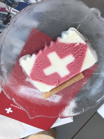 Kleine Scheidegg, Suiza: 少女峰景觀餐廳