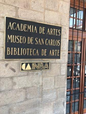 Museo Nacional de San Carlos: photo1.jpg