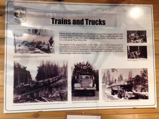 BC Interior Forestry Museum - Picture of BC Interior