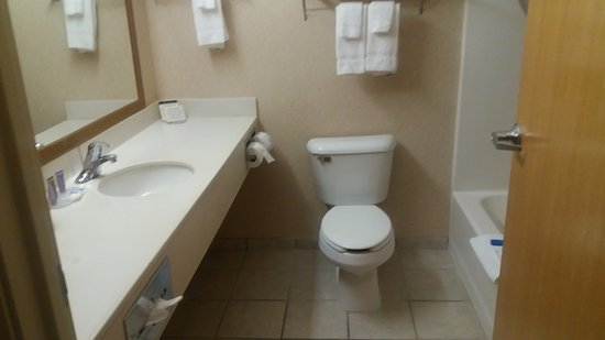 Tomahawk, WI: Bathroom