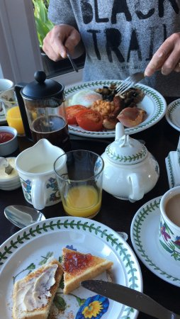 Bryn Bella Guest House: Excellent breakfast!