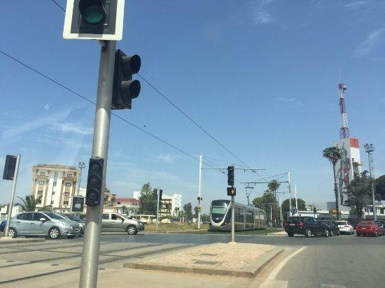 Tramway Rabat-Sale: Tramway de rabat Sale å la porte Irfane