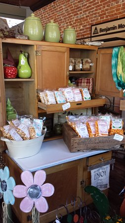 McGregor, IA: Stop in to check out our gifts and home decor including AnnieB's popcorn!