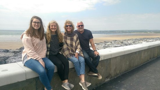 Cratloe, Ireland: The Coffey Family on tour from Tennessee USA!