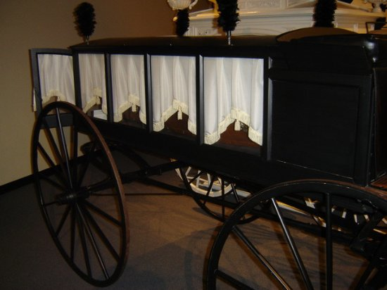 Side view of hearse - Picture of National Museum of Funeral