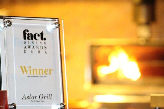 Astor Grill at the St. Regis Doha: Fact Award