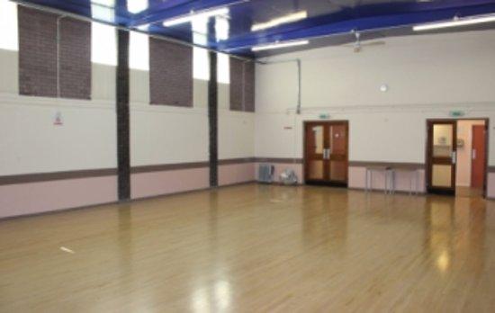Gillingham, UK: Main hall