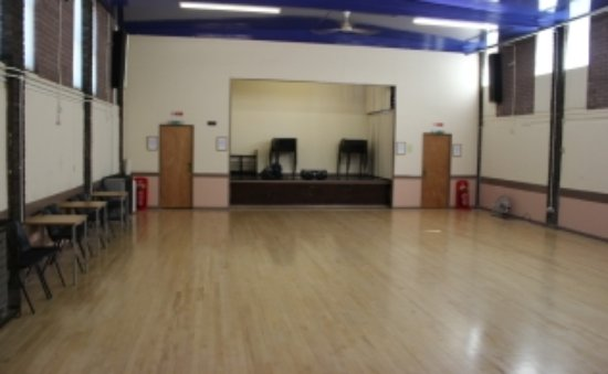 Gillingham, UK: Main hall & stage