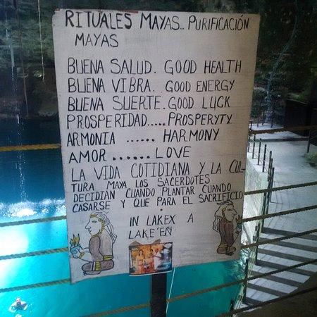 Temozon, Μεξικό: Mayan Purification ritual, Gracias!