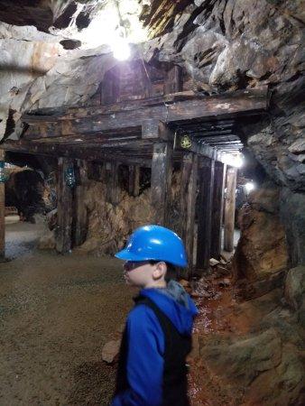 Dahlonega, Geórgia: in the mine