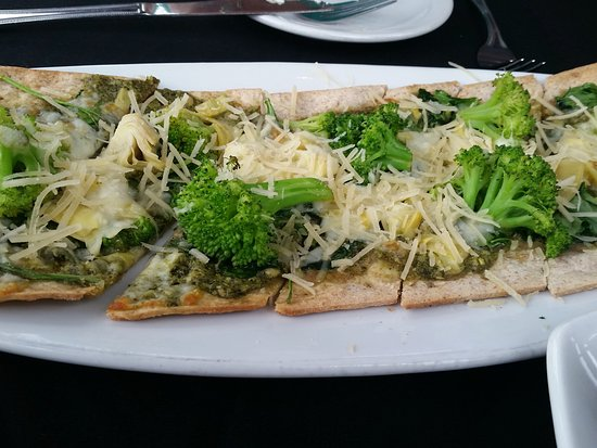 Fratello's Riverfront Restaurant: Flat bread of the day