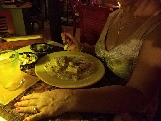El Chapulim: Mahi with a side of potatoes