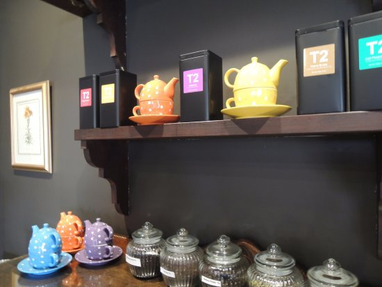 Glen Innes, Avustralya: Our premium T2 Teas offer guests a fragrant cuppa in a relaxed setting