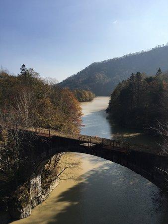 Kamishihoro-cho, Japan: 秋口の第三音更川橋梁