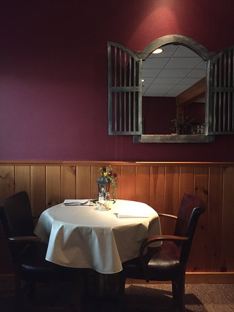 Winneconne, WI: Great food in a romantic setting