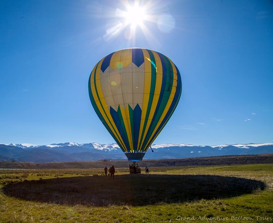 Fraser, CO: Beautiful Balloon Ride Memories! Winter Park, CO. Closest mtn ride to Denver, Boulder, Breckenri