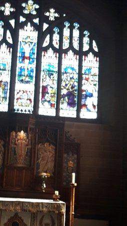 Rossett, UK: Altar