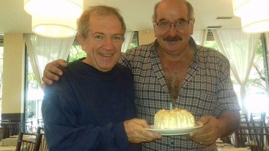 Monte Grande, Аргентина: Celebrando mi cumple con Vicente.