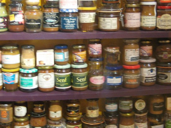 "Middleton, WI: Mustards from all over the world (""Senf"" is ""mustard"" in German)"