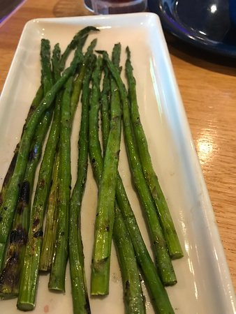 D'Iberville, MS: Grilled Asparagus