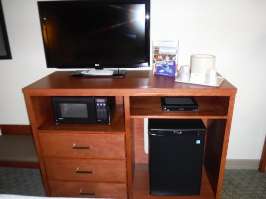 Tv Microwave And Mini Fridge Stand