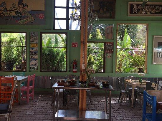 Vista Del Salon Picture Of Jardin Rama San Miguel De Allende