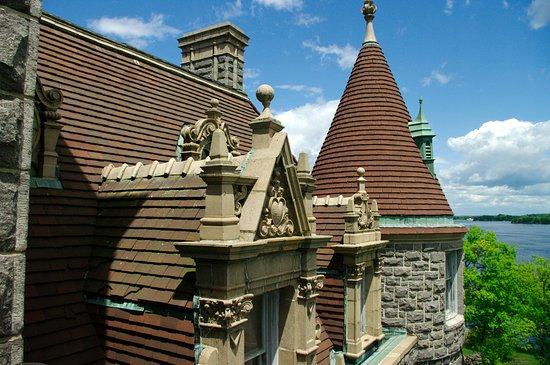 Boldt Castle and Yacht House: Architecture