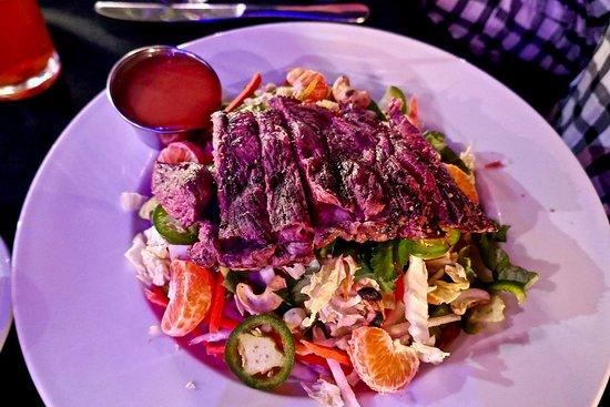 Tubac, AZ: asian salad with beef
