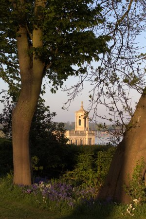 Normanton Church from the hotel garden