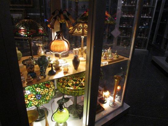 brooklyn museum lmparas de tiffany