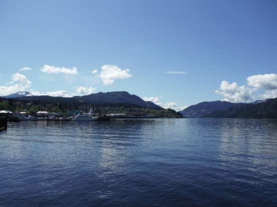 Port Alberni, Canadá: 360 DEGREE TOWER CLOCK VIEW