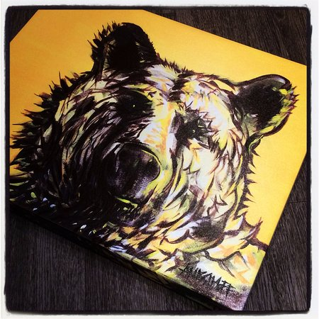 Deep Cove, Canada: Bear Prints