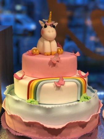 Bauers Unicorn Cake Picture Of Confiserie Cafe Bauer Zurich Tripadvisor