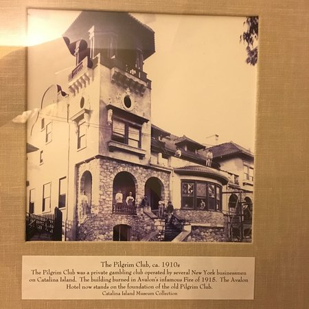 The Avalon Hotel: The backstory. The hotel was built after this place burned