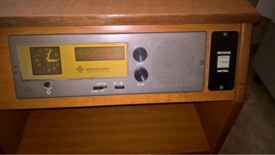 Duna Wellness Hotel: Bedside Radio