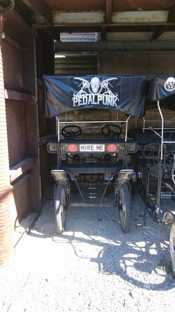 Steampunk HQ: Pedal Bike!
