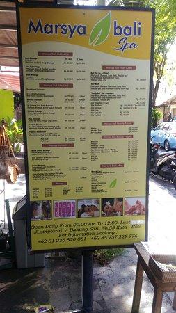 Marsya Bali Spa