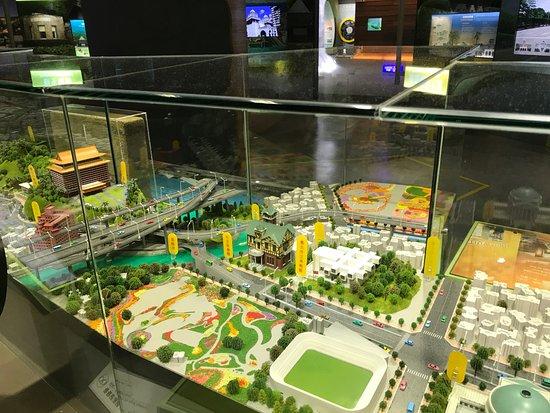 Discovery Center of Taipei: ジオラマ