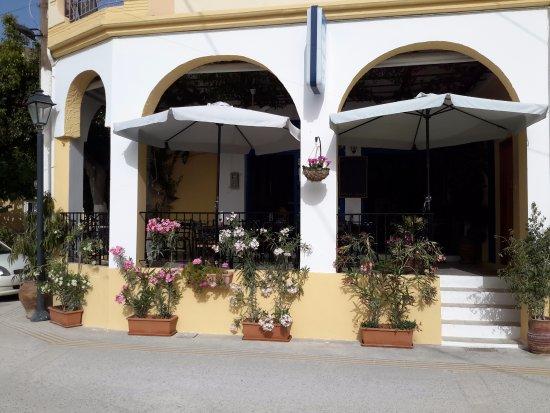 Kamilari, Greece: In front!