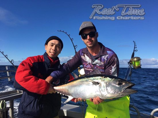 Carrum, Australien: Tuna Fishing Charters Portland May 14 th 2017