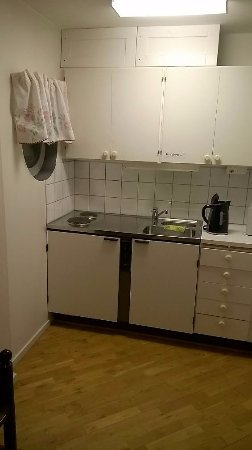 Vellinge, Sweden: Kitchenette