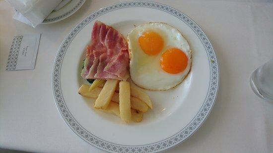朝食ルームサービス(フライドエ...