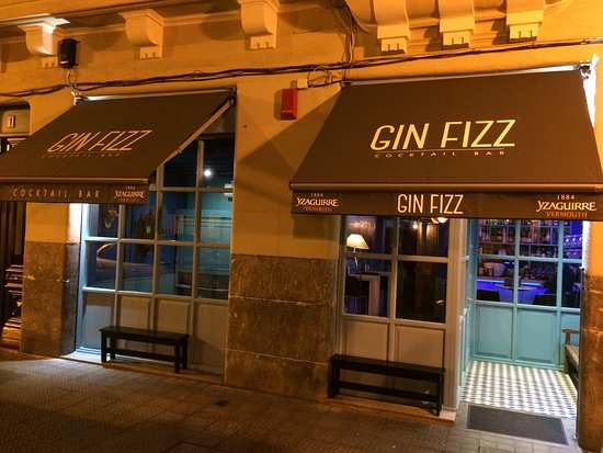 ‪Gin Fizz Bilbao Cocktail Bar‬