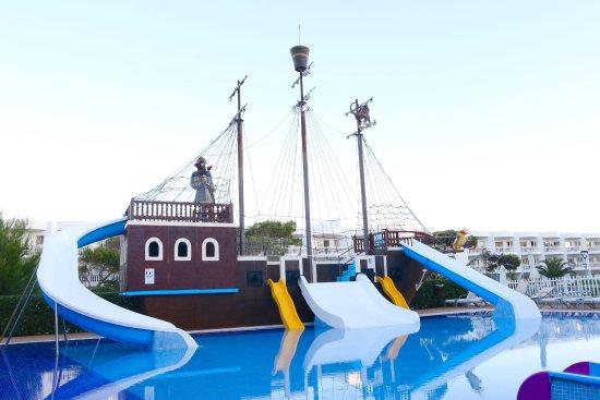 Zafiro Bahia: Kids poolarea. It has a deepth of 40 centimeters.