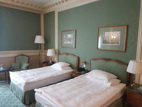 Grand Hotel Wien: Twin room